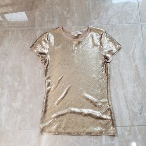MICHEAL Michael Kors Sequin Top